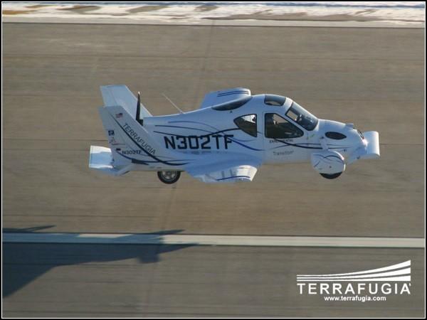 Terrafugia Transition: полет нормальный