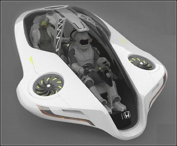 Летающий автомобиль Fuzo