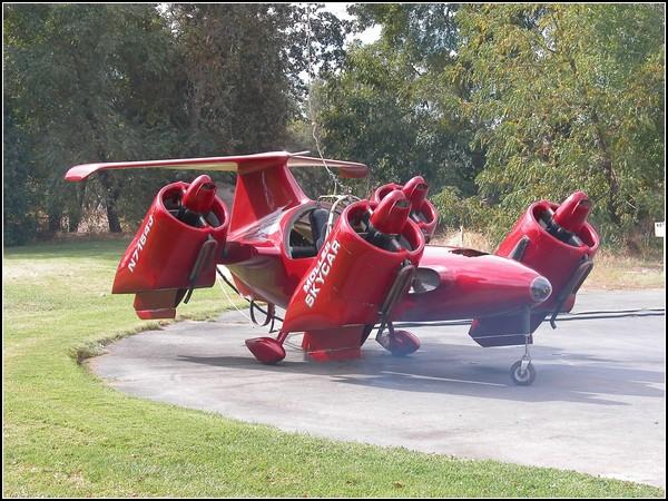 Летающий автомобиль Moller Skycar: от винта!